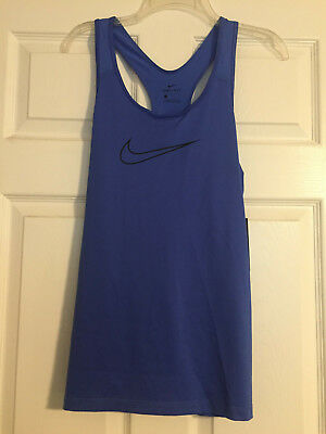95174b33d51deb Nike Pro Cool Victory Dri-Fit Women s Blue Tank Top Racer Back 889560-461
