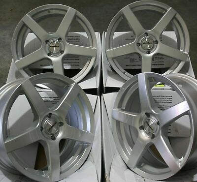 """15"""" Silver Pace Alloy Wheels Fits 4X108 Citroen Ds3 Ds4 Ds5 Aircross Picasso"""