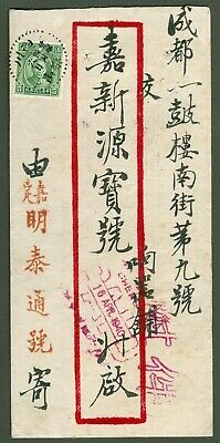 1940 Dr. Sys stamp cover china sichuan-chengtu