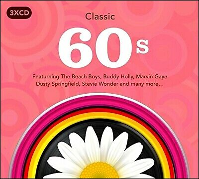 THE SIXTIES (60's) * 55 Greatest Hits * New 3-CD Boxset  * All Original Hits