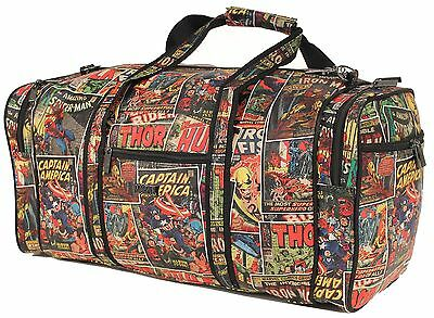 Marvels - Cabin / Overnight Bag - Avengers Comic - Bnwt Rrp$119