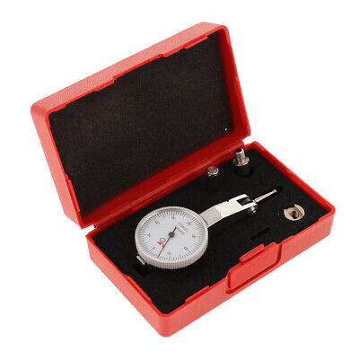 Precise Lever Dial Test Indicator Gauge Meter Measuring Tool 0-0.8mm 0.01mm