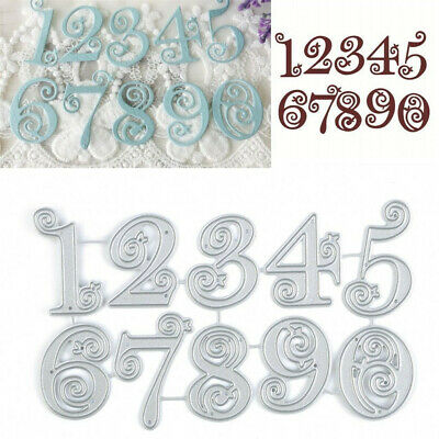 Circle Lace Metal Cutting Dies Stencil Scrapbooking Embossing Paper Card Craft