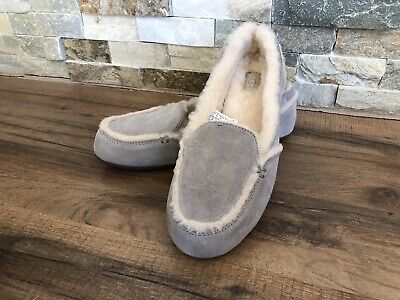 1cba273983b UGG HAILEY MOCCASIN Slippers - Women s Size 6 - Gray -  89.00