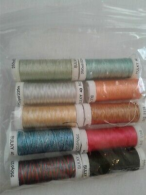 Lot Of 10 Mixed New Sulky Threads