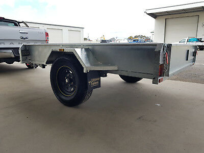 Off Road, galvanised trailer, 6x4, Brand New, Fully Welded 2.5mm checkerplate