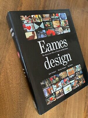 EAMES DESIGN: The Work of the Office of Charles and Ray Eames Thames & Hudson HC