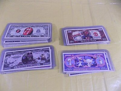 Rolling Stones Million Dollar Novelty Money and many more 58 TOTAL