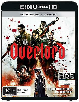 OVERLORD (2018): Action, Horror, D-Day, J.J. Abrams - Au RgB 4K UHD + BLU-RAY