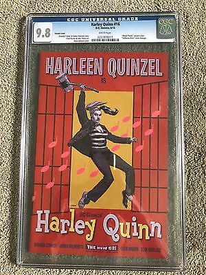 HARLEY QUINN 16 1st Appearance of Gang of Haley's CGC 9.8 Dave Johnson Variant