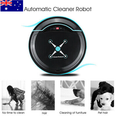 Home Sweeping Robot Automatic Recharge Robotic Vacuum Floor Cleaner Mopping AU