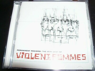Violent Femmes Permanent Record The Very Best Of (Australia) CD – Like New