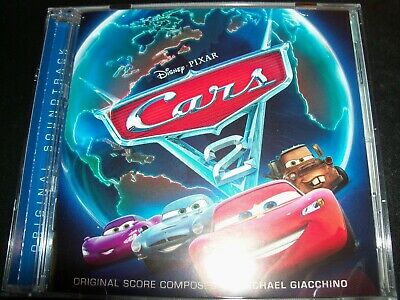 Cars 2 Original Movie Soundtrack CD - Like New