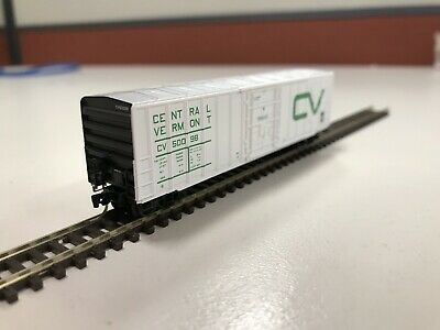 MTL N Scale 50' Rib Side Boxcar (central Vermont)