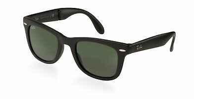5ba028b304 New RAY-BAN Folding Wayfarer Sunglass RB4105 601S Matte Black w G-15