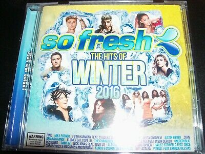 So Fresh The Hits Of Winter 2016 Various CD Zayn Flume Dami Im Delta Goodrem Pin