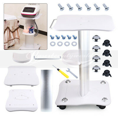 Stand Equipment Acrylic Bracket Assembled Aluminum Alloy For Salon Trolley Spa