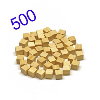 Wooden 1cm cube blocks for Cuisenaire, Base 10 and Craft projects - pack of 500