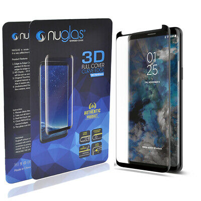Samsung Galaxy S9, S8 Plus, Note, S8 NUGLAS Tempered Glass 3D Screen Protector