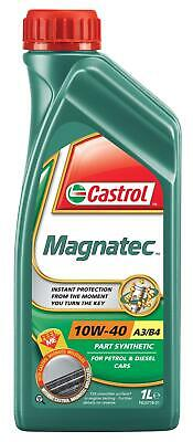 Castrol Magnatec SAE 10W-40 A3 B4 Motor Engine Oil Semi Synthetic 1 Litre