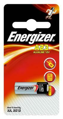 Energizer A23 Alkaline Battery Pack 2 Pieces 12V Cylindrical Multi Cell Domestic