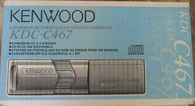 New Kenwood Kdc-C467 Cd-Changer To 6Cd For Head Unit Kenwood Player Cd-R/rw