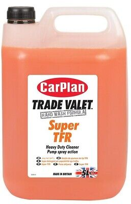 CarPlan Trade Super TFR Heavy Duty Cleaner 5L Pump Spray Action Detailing Care