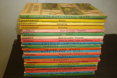 Set of 22 Ladybird Crafts & Hobbies Books . Mixed condition