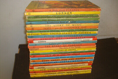 Set of 27 Ladybird History/Learning Books, Mixed Series. Good condition.