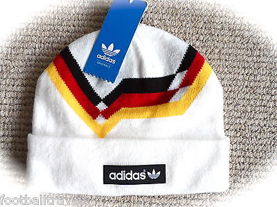 Womens CLASSIC RETRO ADIDAS BOBBLE BEANIE TOQUE Hat TAGS Femme OSFW Germany cd7828262969