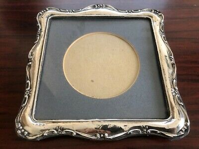 Antique Solid Silver Victorian Photo frame Birmingham 1907 (in need of some TLC)