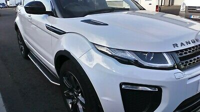 Range Rover Evoque bumper fully painted.