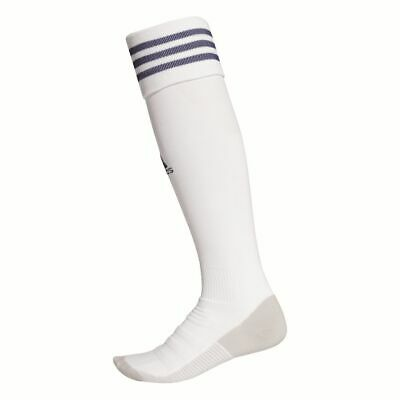 Adidas Football Soccer AdiSock 18 Knee Socks White Dark Blue