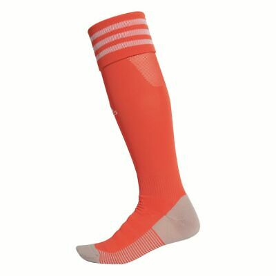 Adidas Football Soccer AdiSock 18 Knee Socks Orange White