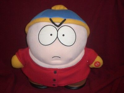 "Rare 13"" South Park Talking Cartman Plush Toy Doll Figure By Fun 4 All"