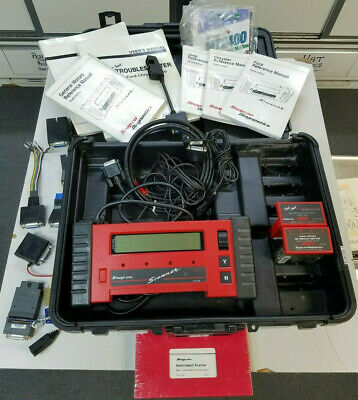Snap On Tools Mt2500 Automotive Scanner Diagnostic  Code Reader With Books & Mor