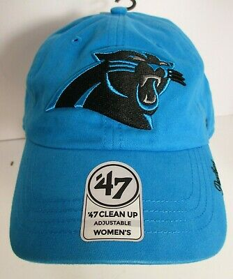half off bfd73 95caf Panthers Carolina Hat Cap Woman Med or Youth Lg 47 Brand Embroidery NFL New