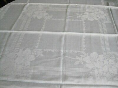 Vintage Pale Green Tablecloth