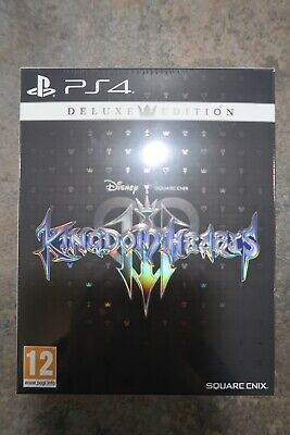 Kingdom Hearts III Deluxe Edition PS4 Brand New & Sealed