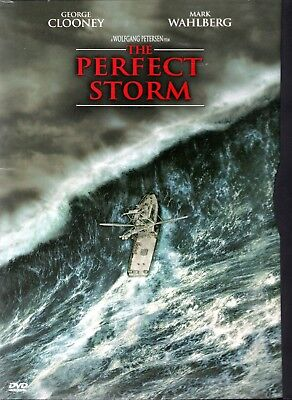 The Perfect Storm with George Clooney & Mark Wahlberg Like New DVD Free Shipping