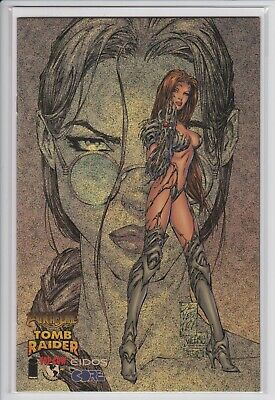 Witchblade Tomb Raider #1 Speckle Holofoil Edition Variant NM Image 1998 Turner