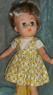 Vintage Doll Clothes 1950's DRESS (tags), Virga, Vogue Ginny, Ginger, Muffie, 8""