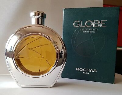 100ml  EDT Rochas Globe Pour Homme Metall Edition (Vintage)