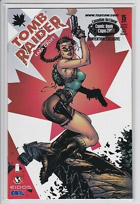Tomb Raider #15 (Canadian National Comic Expo 2001 Convention Exclusive) NM