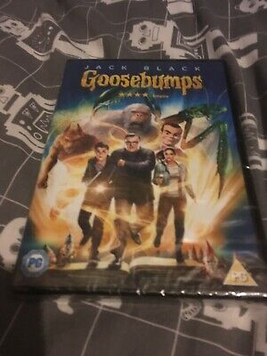 goosebumps dvd jack black