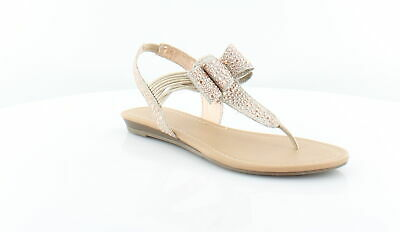 bed86bd8de7 Material Girl New Shayleen Gold Womens Shoes Size 7.5 M Sandals MSRP  49.5