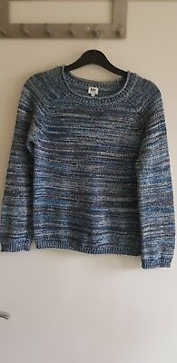 Jumper 10 years girls boys Sweater KIN JOHN LEWIS blue BNWOT cotton