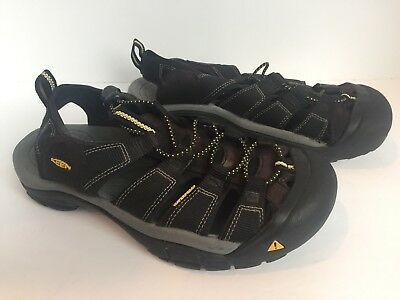 52d0042fcb5 KEEN Mens Newport H2-M Black Sport Sandals Shoes Size 9 Water Hiking Trail