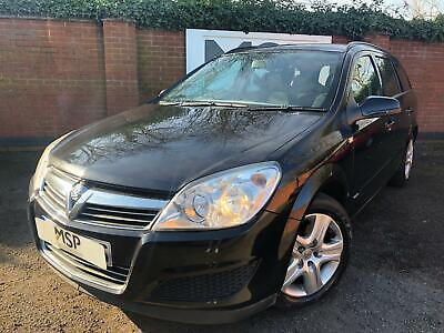 2009 Vauxhall Astra 1.7 CDTi ecoFLEX Club Estate 5dr Diesel Manual BLACK