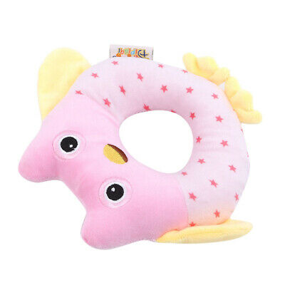 Toddler Baby Plush Rattle Hand Bells Music Instrument Early Learning Gift LD